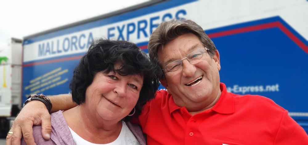 Mallorca-Express.net Dieter Lynen & Frau - Logistik
