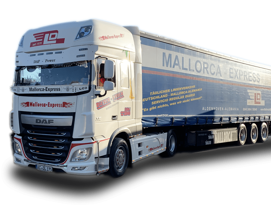 Mallorca-Express.net Mallorca-Transporte LKW